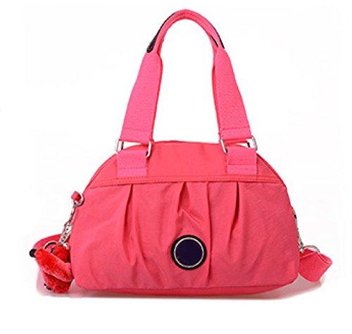 Frauen Jahrgang Leinwand Schulter Aktentasche Messenger Handtasche Side Die Universelle Einsatz Tasche ,H-30cm*14cm*20cm