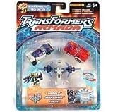 Transformers Armada The Unicron Battles Emergency Mini-con Team: Firebot - Makeshift - and Prowl