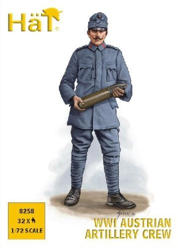 (Hat 1/72 WWI Austrian Artillery Crew # 8258 by Hat Industrie)