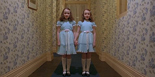 'The Shining Twins' Still Shot from The Shining 1980 24x36 inches Stanley Kubrick
