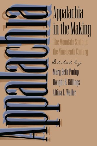 Appalachia in the Making: The Mountain South in the Nineteenth Century (Children of Poverty)