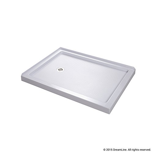 Genial DreamLine SlimLine 36 In. X 48 In. Double Threshold Shower Base, Left Hand