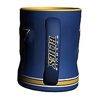 NHL unisex NHL Sculpted Relief Mug, 14-ounce
