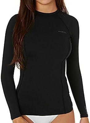 O/'Neill Thermo X Rash Vest Ladies Black