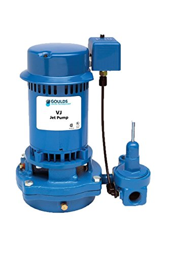 (Goulds VJ10 Vertical Deep Water Well Jet Pump, 1 HP, Single Phase, 115/230 V )