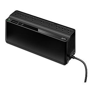APC UPS Battery Backup & Surge Protector with USB Charger, 850VA Uninterruptible Power Supply (BE850M2)