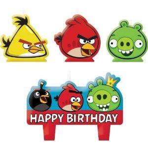 Amazon.com: Party Time Angry Birds moldeado – Juego de mini ...