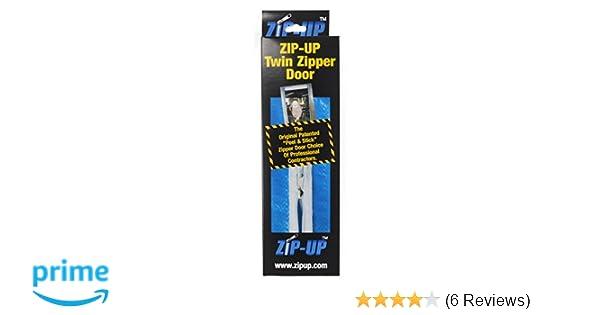 Amazon Com Zip Up Products Air Tight Twin Zipper Door 84 X 3 2