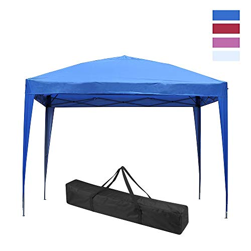 Leisurelife Waterproof Side Outdoor Folding Commercial product image