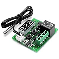Robotbanao W1209-50~100 Digital Temperature Controller Thermostat 12V and Sensor