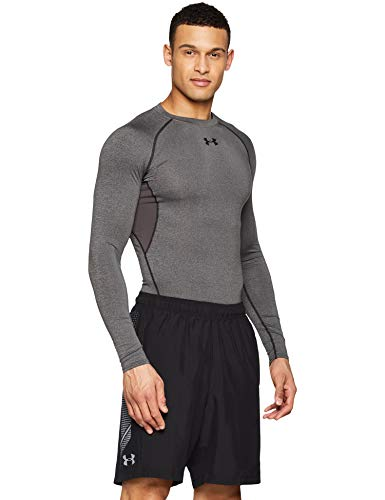 (Under Armour Men's Woven Graphic Shorts, Black (003)/Steel, Medium )