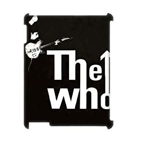 LSQDIY(R) The Who iPad2,3,4 Personalized 3D Case, Customised iPad2,3,4 3D Case The Who