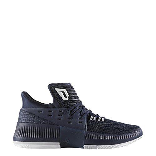 Shoe Men's adidas Navy White Basketball Collegiate Dame 3 7qqBw
