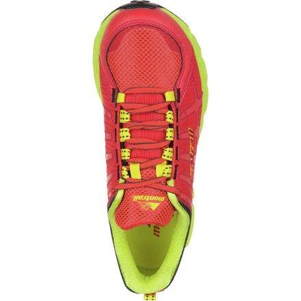 Montrail Dames Bajada Ii Trail-loopschoen Rode Hibiscus / Chartreuse