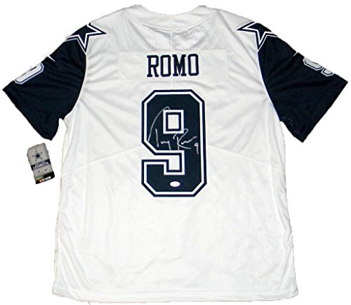 - Autographed Tony Romo Jersey - Nike Limited Color Rush - JSA Certified - Autographed NFL Jerseys
