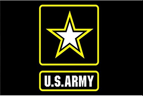 6 ft. Army Star Bicycle Safety Flag with Rear Axle Mounting Bracket