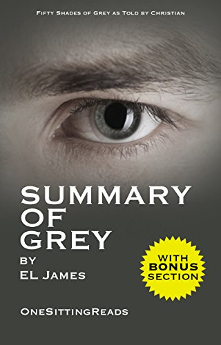 Summary of Grey: Fifty Shades of Grey as Told by Christian (Fifty Shades of Grey Series) by E L James - One Sitting Reads - Read the Whole Book In 5 Minutes With (Bonus Story) cover