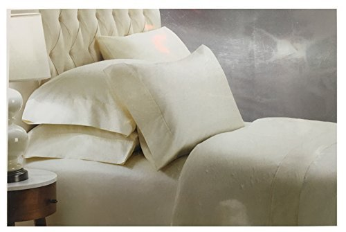 Charisma 400TC King Ivory 100% Egyptian Cotton 6 Pc Sateen S
