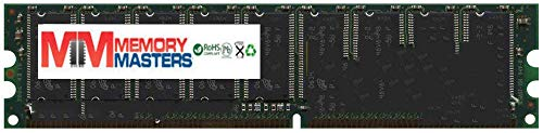 MemoryMasters 1GB PC3200 DDR400 2Rx8 Dual Rank Unbuffered ECC 184-pin UDIMM (p/n AEI)