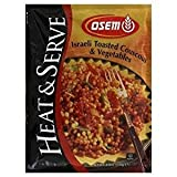 Osem Israeli Toasted Couscous & Vegetables 4.6 Oz. Pk Of 3.