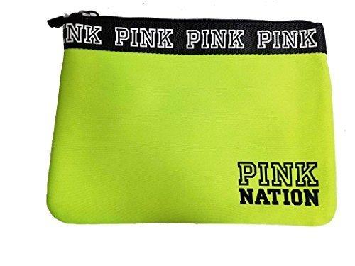 Victoria's Secret PINK Neon Green Bikini Bag