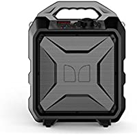 Monster Rockin Rambler Portable Indoor/Outdoor Weather Proof Wireless Speaker - Gray