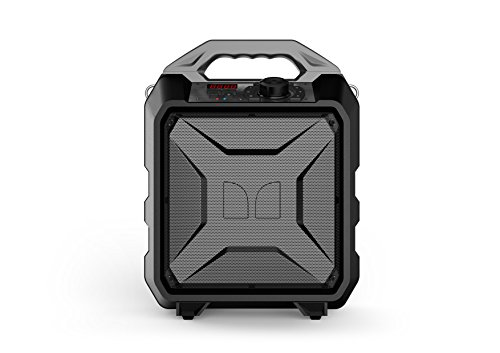 Monster Rockin' Rambler Portable Indoor/Outdoor Weather Proof Wireless Speaker - Gray
