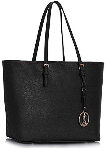 Chloe Tote Bag Black - 3