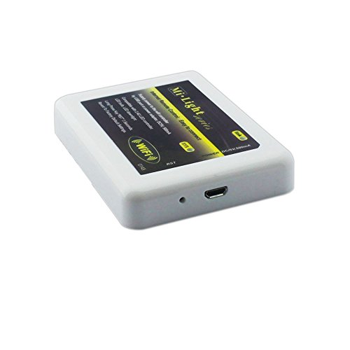 LEDENET® WiFi Bridge Controller Hub Mi Light Series - DC5V 500mA USB Cable - Internet Remote Control RGB RGBW Dual White LED Lights and 2.4G LED Strip for Smartphone Android, iPhone, iPad (Wifi Hub)