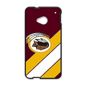 SKULL Washington Redskins Logo Hot Seller Stylish Hard Case For HTC One M7