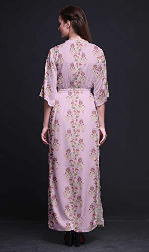794e6d18c5d Imprimée Rose Femme Pour Plage Robe Rayon Porc3 Ouverture D été Kimono Bimba  Avec De Cocktail Longue Manches Latérale ZqUSEIzzxw