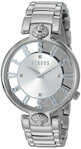 Versus by Versace Women's 'KRISTENHOF' Quartz Stainless Steel Watch, Color:Silver-Toned (Model: VSP490518)