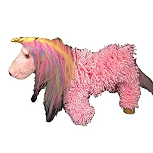 Pink Yarn Unicorn Marionette Puppet | MUN16-4 | STYLES VARY