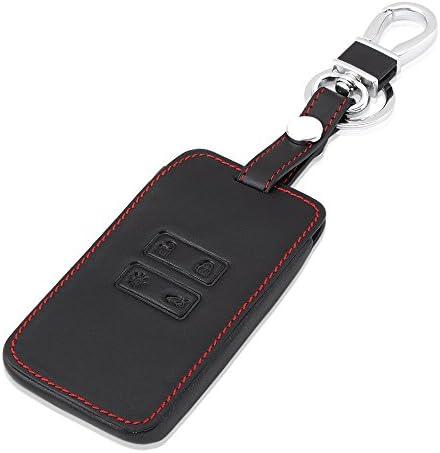 Auto Schlüsseltasche Leder Schlüsseletui Schlüsselanhänger Fob Case Holder Cover Schlüsseltasche Autoschlüssel Auto