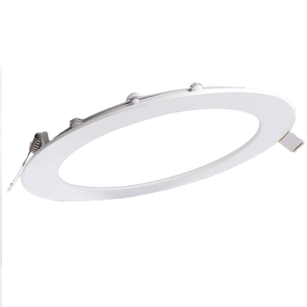 10er Pack Ultradünne LED-Downlight-Deckenleuchte mit integriertem Gitter für LED-Deckenleuchte (Farbe   Warm light (10 pack)-15W 19cm)