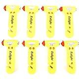 Exlight Escape Tool Seatbelt Cutter Window Breaker Emergency Car Hammer, Color Yellow, Package of 8