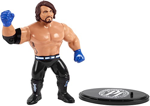 WWE AJ Styles Retro App Action Figure, 4.5""