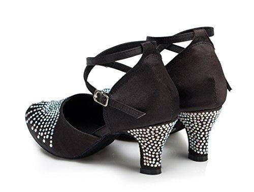 Black Sala Heel Donna 6cm Joymod MGM qYxgRt5