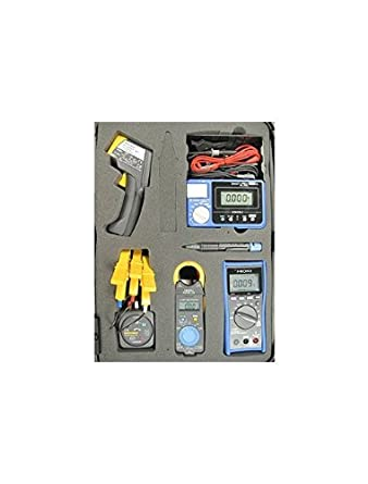 Hioki HPK-2 Professional HVAC und Elektrik Test Kit mit Digital ...