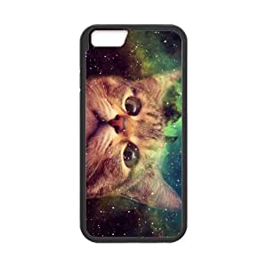 iPhone 6 Protective Case - Space Cat Hardshell Cell Phone Cover Case for New iPhone 6