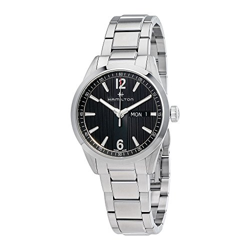 Hamilton Broadway Day Date Anthracite Dial Mens Watch H43311135