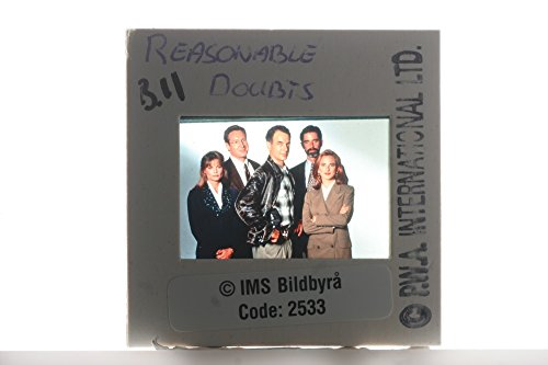 """Slides photo of The casts from a police drama television series, """"Reasonable Doubts""""."""