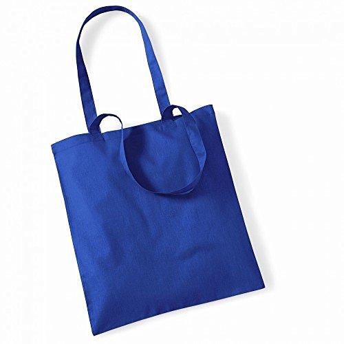 """Westford Mill- Promoción bolsa básica """"Bolsa para la vida""""- capacidad 10 litros multicolor - azul"""