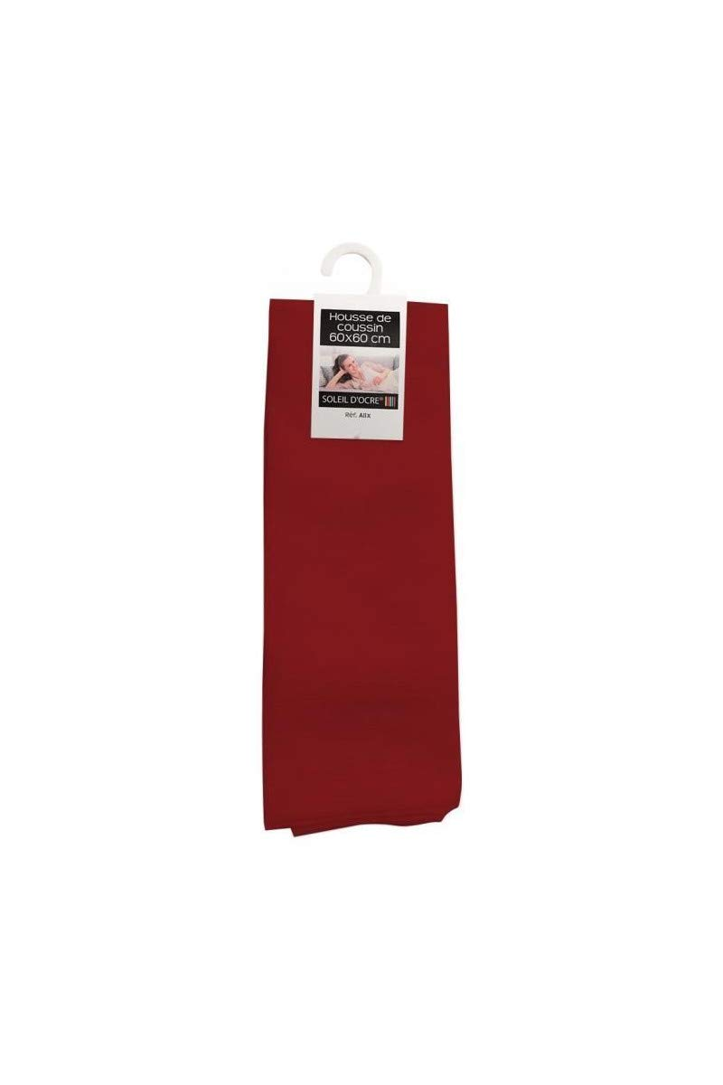Funda de cojín 60x60 cm Alix roja