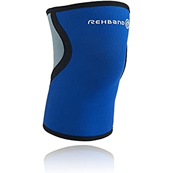 Rehband Basic Line Knee Support 7953 3mm - Medium - Expand Movement & Cross Training Potential - Knee Sleeve for Fitness - Feel Stronger & More Secure - Relieve Strain & Move Easier -1 Sleeve