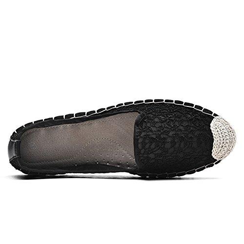 para HK2301 Zapatillas Mujer Black TIOSEBON 2305 EqR0Yfw