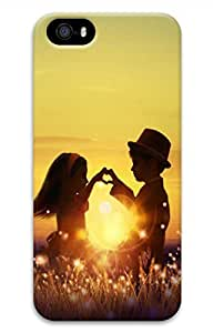 iPhone 5 5S Case The Setting Sun Lovers Funny Lovely Best Cool Customize iPhone 5 Cover