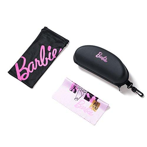 Barbie Lunettes de soleil Femme Fille polarisées à la mode moderne fashion style vintage pratique protection UV 400 cadeau gift Grey