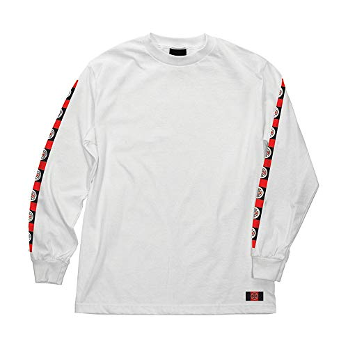 b2ac6711db59 Independent Skateboard Trucks Banner Logo Long Sleeve Shirt (White) (Medium)