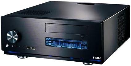 NOX Xtreme Live 2 HTPC ATX – Caja de Ordenador, Color Negro: Amazon.es: Informática